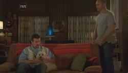 Toadie Rebecchi, Bob, Steve Parker in Neighbours Episode 5673