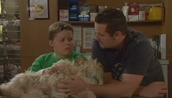 Callum Jones, Bob, Toadie Rebecchi in Neighbours Episode 5674