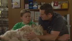 Callum Jones, Bob, Toadie Rebecchi in Neighbours Episode 5674