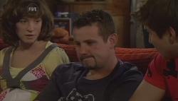 Bridget Parker, Toadie Rebecchi, Declan Napier in Neighbours Episode 5674