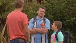 Dan Fitzgerald, Toadie Rebecchi, Callum Jones in Neighbours Episode 5676