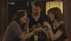 Rebecca Napier, Lucas Fitzgerald, Bridget Parker in Neighbours Episode 5677