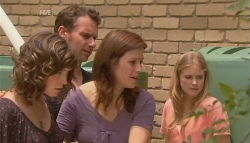 Bridget Parker, Lucas Fitzgerald, Rebecca Napier, Elle Robinson in Neighbours Episode 5677