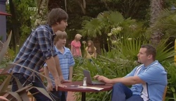 Ty Harper, Mickey Gannon, Toadie Rebecchi in Neighbours Episode 5677