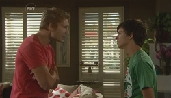 Dan Fitzgerald, Zeke Kinski in Neighbours Episode 5678