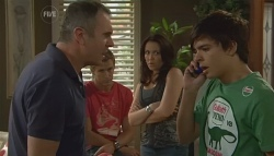 Karl Kennedy, Dan Fitzgerald, Libby Kennedy, Zeke Kinski in Neighbours Episode 5679