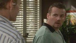 Dan Fitzgerald, Toadie Rebecchi in Neighbours Episode 5679