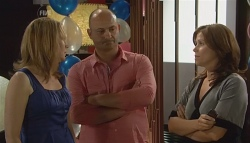 Miranda Parker, Steve Parker, Rebecca Napier in Neighbours Episode 5682