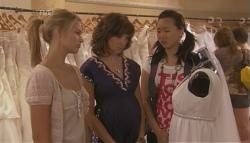 Donna Freedman, Bridget Parker, Sunny Lee in Neighbours Episode 5683