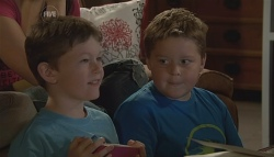 Ben Kirk, Callum Jones in Neighbours Episode 5684
