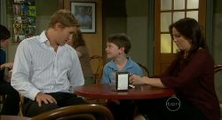 Dan Fitzgerald, Ben Kirk, Libby Kennedy in Neighbours Episode 5701