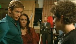 Dan Fitzgerald, Libby Kennedy, Harry Ramsay in Neighbours Episode 5702