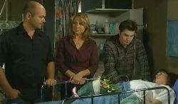 Steve Parker, Miranda Parker, Declan Napier, Bridget Parker in Neighbours Episode 5702