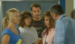 Donna Freedman, Bridget Parker, Lucas Fitzgerald, Susan Kennedy, Karl Kennedy in Neighbours Episode 5704