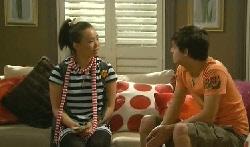 Sunny Lee, Zeke Kinski in Neighbours Episode 5705