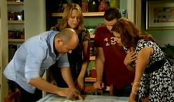 Steve Parker, Miranda Parker, Toadie Rebecchi, Rebecca Napier in Neighbours Episode 5707