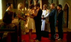 Sunny Lee, Donna Freedman, Bridget Parker, Declan Napier, Reverend Archie Draper, Ringo Brown, Zeke Kinski in Neighbours Episode 5707