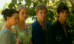 Sunny Lee, Donna Freedman, Ringo Brown, Zeke Kinski in Neighbours Episode 5707