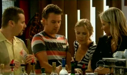 Toadie Rebecchi, Lucas Fitzgerald, Elle Robinson, Steph Scully in Neighbours Episode 5709