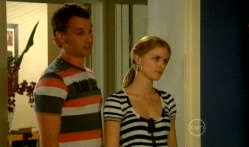 Lucas Fitzgerald, Elle Robinson in Neighbours Episode 5709