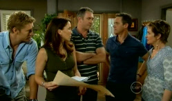 Dan Fitzgerald, Libby Kennedy, Karl Kennedy, Paul Robinson, Susan Kennedy in Neighbours Episode 5713