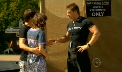 Declan Napier, Bridget Parker, Security guard in Neighbours Episode 5715