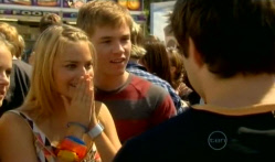 Donna Freedman, Ringo Brown, Declan Napier in Neighbours Episode 5715