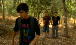 Zeke Kinski, Ringo Brown, Declan Napier in Neighbours Episode 5716