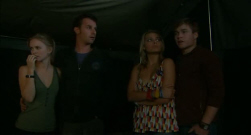 Elle Robinson, Lucas Fitzgerald, Donna Freedman, Ringo Brown in Neighbours Episode 5717