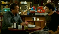 Paul Robinson, Declan Napier in Neighbours Episode 5719