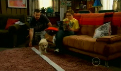 Toadie Rebecchi, Rocky, Callum Jones in Neighbours Episode 5720