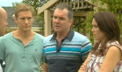 Dan Fitzgerald, Karl Kennedy, Libby Kennedy in Neighbours Episode 5721
