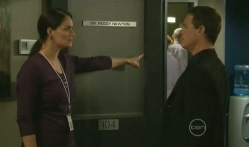 Dr. Peggy Newton, Paul Robinson in Neighbours Episode 5721