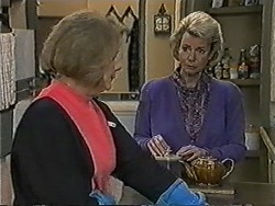 Madge Bishop, Helen Daniels in Neighbours Episode 1051