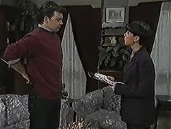 Matt Robinson, Hilary Robinson in Neighbours Episode 1051