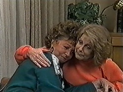 Gloria Lewis, Madge Bishop in Neighbours Episode 1051