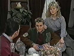 Matt Robinson, Nick Page, Sharon Davies in Neighbours Episode 1052