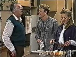 Harold Bishop, Henry Ramsay, Bronwyn Davies in Neighbours Episode 1053
