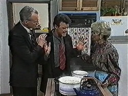 Jim Robinson, Paul Robinson, Helen Daniels in Neighbours Episode 1053