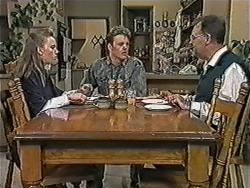 Bronwyn Davies, Henry Ramsay, Harold Bishop in Neighbours Episode 1053