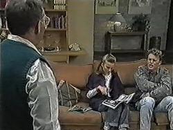 Harold Bishop, Bronwyn Davies, Henry Ramsay in Neighbours Episode 1053