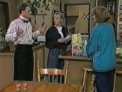 Henry Ramsay, Bronwyn Davies, Madge Bishop in Neighbours Episode 1054