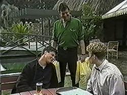 Joe Mangel, Des Clarke, Henry Ramsay in Neighbours Episode 1054