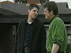 Joe Mangel, Des Clarke in Neighbours Episode 1054