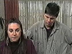 Kerry Bishop, Joe Mangel in Neighbours Episode 1055