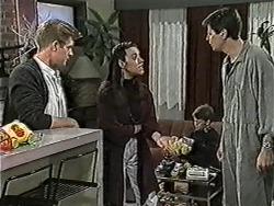 Clive Gibbons, Kerry Bishop, Toby Mangel, Joe Mangel in Neighbours Episode 1055