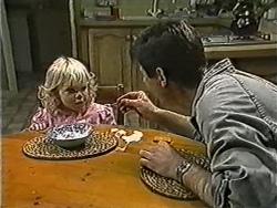 Sky Mangel, Joe Mangel in Neighbours Episode 1056