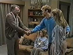 Harold Bishop, Madge Bishop, Henry Ramsay, Bronwyn Davies in Neighbours Episode 1056