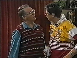 Harold Bishop, Joe Mangel in Neighbours Episode 1056