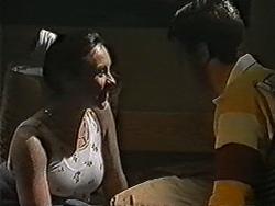Kerry Bishop, Joe Mangel in Neighbours Episode 1056